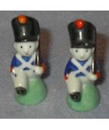 Japan Figural Soldier Salt and Pepper Shaker Set - $5.00
