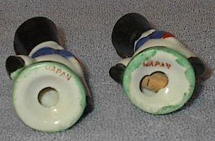 Japan Figural Soldier Salt and Pepper Shaker Set