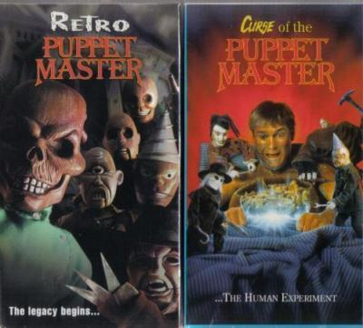 PUPPET MASTER 6 & 7: Curse of the & Retro - NEW 2 DVD