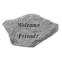 Kay Berry Welcome Friends Accent Rock - $34.13