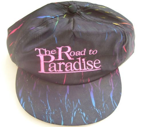ROAD TO PARADISE Pennsylvania Black & Pink Hat-Cap- NEW