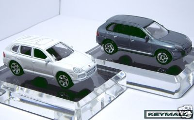 Primary image for 2004/2009 WHITE & SILVER GREY 2 PORSCHE CAYENNE 4X4 LOT