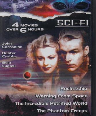 SCI-FI 6: Phantom Creeps/Rocketship+More NEW 4 Film DVD