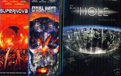SCI FI DISASTER Supernova/Final Days/Black Hole NEW DVD