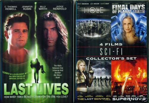 SCI-FI: Last Sentine/Lives-Supernova-Blk Hole NEW 2 DVD