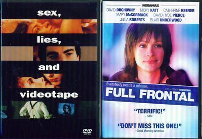 SEX-LIES+VIDEOTAPE 1&2-Full Frontal-Soderbergh NEW 2DVD