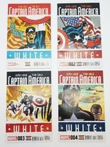 Captain America White 1 2 3 4 November 2015 Marvel Comics Jeph Loeb Tim Sale - £10.35 GBP