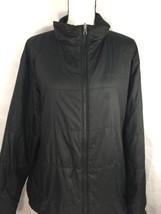 Columbia Men Black High Neck Winter Jacket Zip Up Polyester Light Weight XL - $23.38
