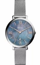 Fossil Women Jacqueline Three-Hand Stainless Steel Watch ES4322 NWT - $108.88