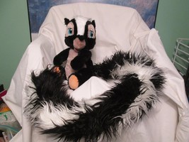 Disney Product Miss Skunk Stuffed Animal Friendly Toy Extra Long Fluffy ... - $23.02
