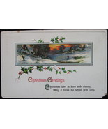 Sam Gabriel, Early Divided-back, Embossed, Christmas Postcard, Christmas... - $6.00