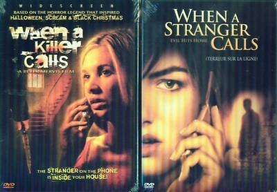 WHEN A STRANGER-KILLER CALLS: Camilla Belle - NEW 2 DVD