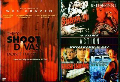 TRACI LORDS: Ice-Shoot Divas+Shotgun-Serpent NEW 2 DVD