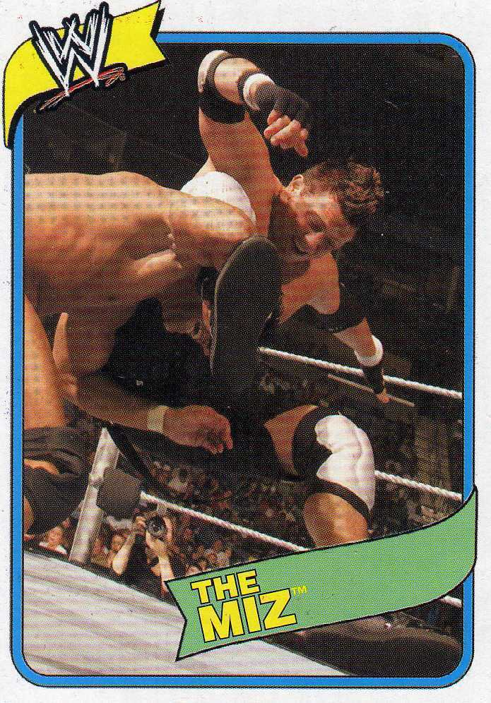 WWE Topps Heritage III The Miz card WWF TNA Impact AAA CMLL