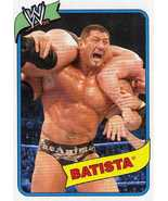 WWE Topps Heritage III Batista card WWF TNA AAA CMLL - $1.50