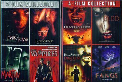 VAMPIRES Bled-Modern-Dracula-Martin-Fangs NEW 8Film DVD