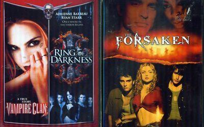 VAMPIRES: Forsaken-Vampire Clan-Ring Darkness NEW 2DVD