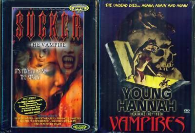 VAMPIRES: Sucker & Young Hanna Queen NEW 2 DVD
