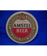 Amstel Lager Beer Coaster Vintage Souvenir  - $3.99