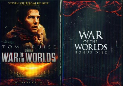 WAR OF THE WORLDS+Bonus Disc-Steven Spielberg-NEW 2 DVD
