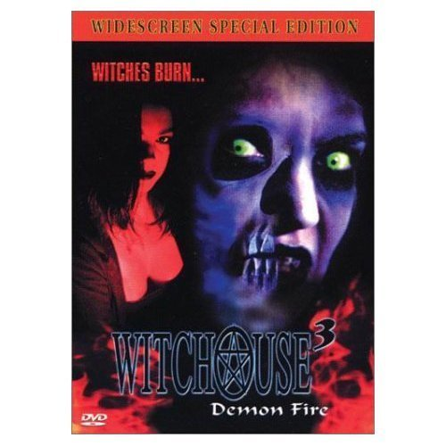 WITCHOUSE 1 - 2 - 3: Blood Coven-Demon Fire - NEW 3 DVD