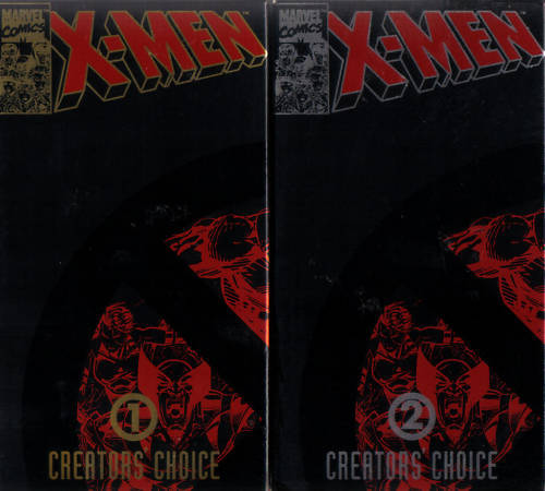 X-MEN Vol.1&2: Creator's Choice - Stan Lee - MINT VHS