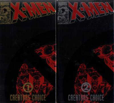 X-MEN Vol.1&2: Creator's Choice - Stan Lee - MINT VHS