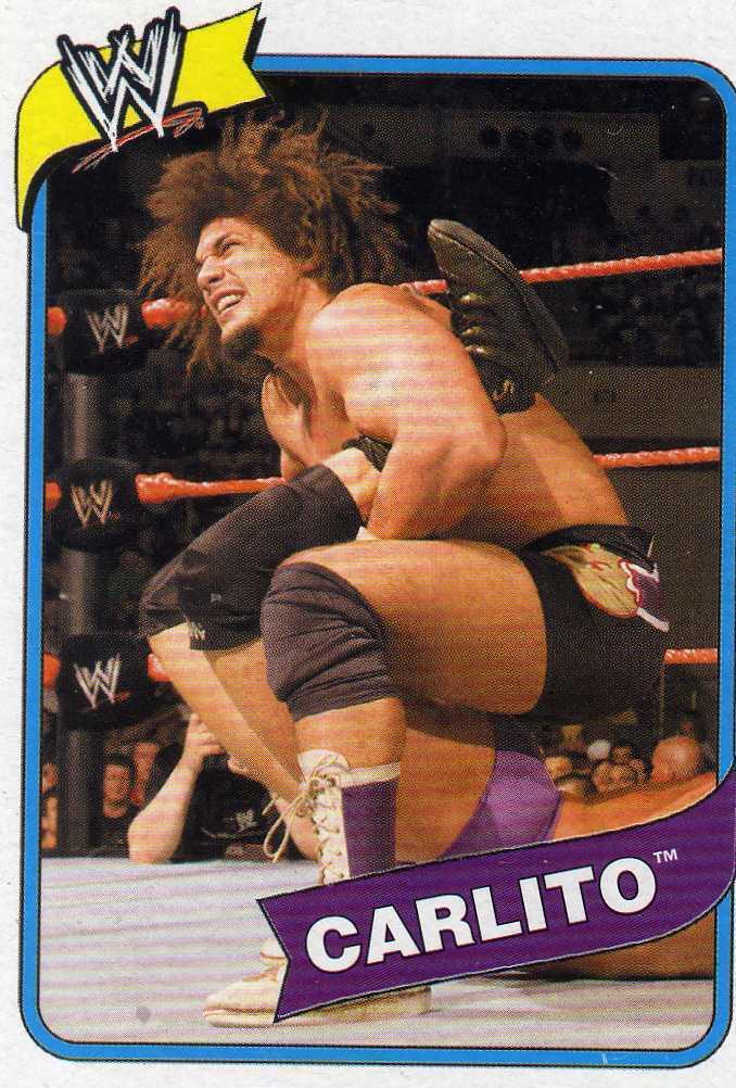 WWE Topps Heritage III Carlito card WWF TNA CMLL AAA
