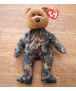 Ty Gulf War Hero Beanie Baby Bear 2003 Reversed Flag - $9.95