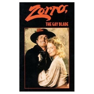ZORRO THE GAY BLADE George Hamilton & Hutton NEW VHS
