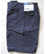 Izod Boys Navy Cotton Cargo Shorts Size 7 New - $11.00