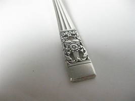 "Flatware Silverplate Community Coronation Teaspoons 6"" - $4.50"