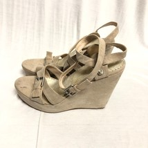 Bcbg Maxazria Shoes Canvas Pumps Sandals Wedge : 9/39 - $17.75