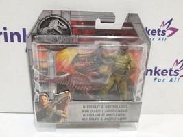 2018 Jurassic World Mercenary & Ankylosaurus Action Figures - $12.99