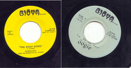 2 UNCLE FLOYD 45'S DEEP IN THE HEART OF JERSEY THE SNAP SONG FLOYD VIVIN... - $17.56