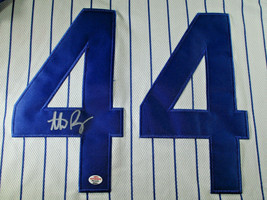 ANTHONY RIZZO / CHICAGO CUBS / AUTOGRAPHED CHICAGO CUBS PRO STYLE JERSEY / COA image 3