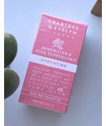 Crabtree & Evelyn Rosewater & Pink Peppercorn Hydrating ETD 3.4oz New & ... - $76.67