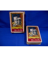 Andrews Liver Salt Playing Cards Deck Souvenir Vintage Collectibles Red  - $34.99