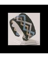 5 Drop Even Count Peyote Bead Pattern - Celtic Pewter Cuff Bracelet - $4.00