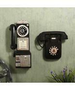 Hanging Telephone European Style Retro Vintage Wall Decoration Ornament ... - $63.42