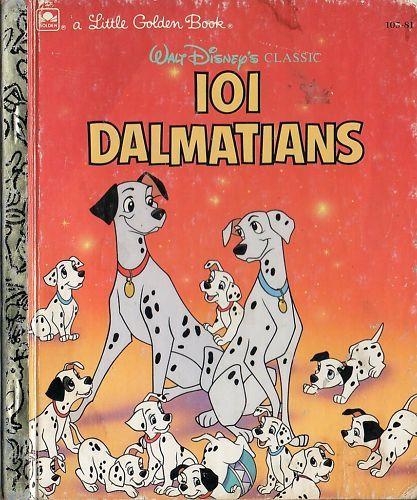 Disney Dumbo Dalmatians Pinocchio Lady Tramp Little Golden B