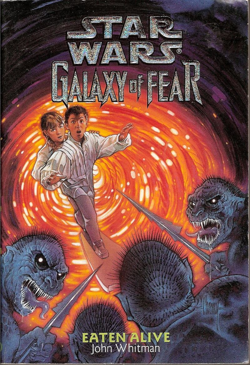Star Wars Galaxy of Fear Eaten Alive and The Brain Spiders by John Whitman Set