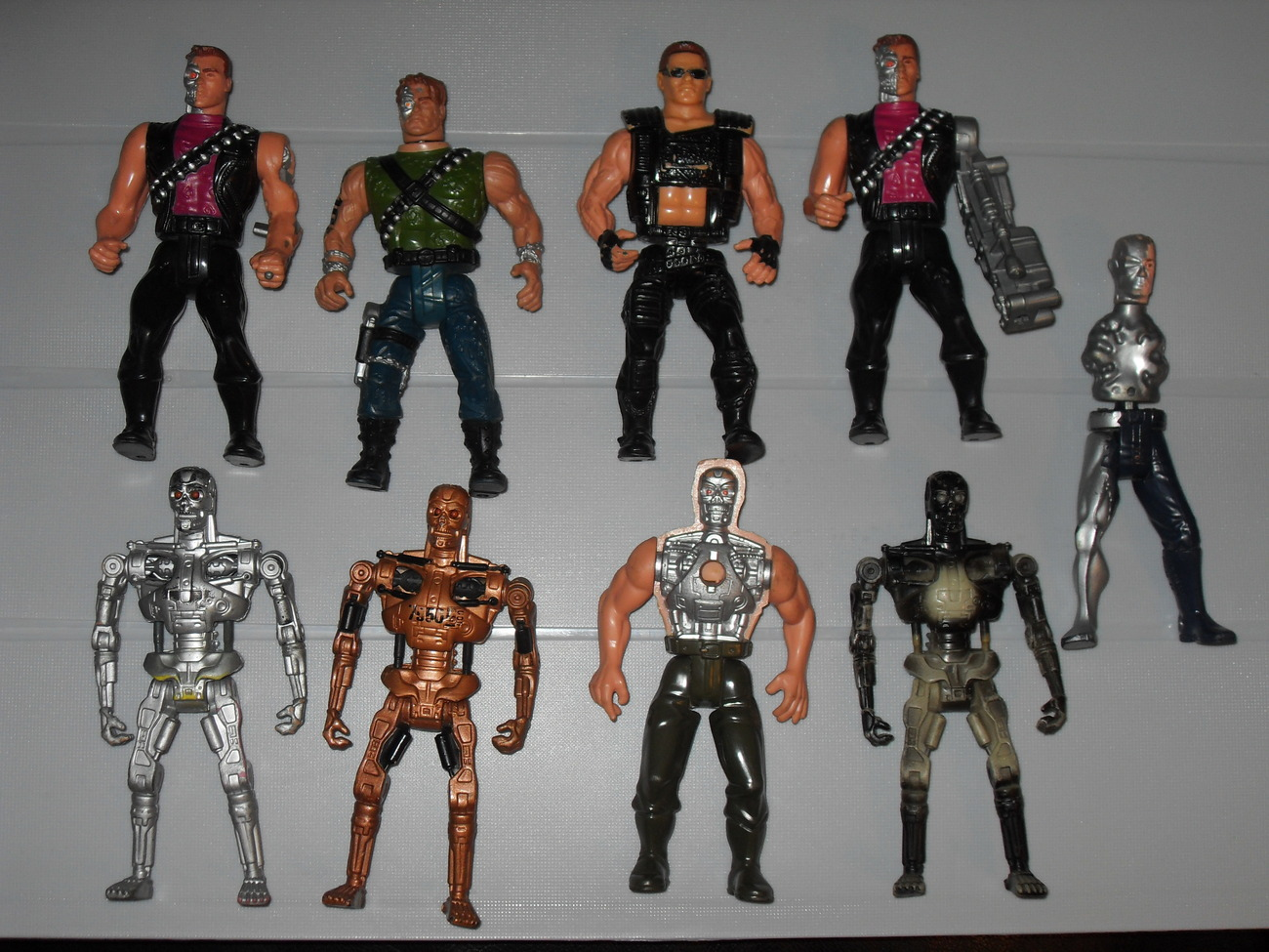 Vintage 1990s Terminator Lot of 9 Figures