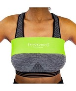 Boobuddy Adjustable Breast Support Band Sports Bra Alternative, Green - $18.73
