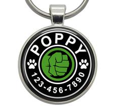 Pet ID Tags - Hulk Fist (Marvel) - Dog ID Tags, Cat ID Tags, Pet Tags, D... - $19.99
