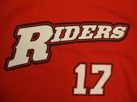 Mlb Frisco Roughriders Texas Rangers Baseball Elvis Andrus Red T Shirt S - $17.86