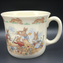 ROYAL DOULTON BUNNYKINS MUG CUP 1936 antique England bone china beach sa... - $25.74