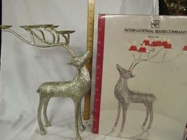 International Silver Co. Reindeer Candelabra - Deer - Broken Leg, Restor... - $11.39
