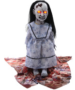 SCARY LUNGING GRAVEYARD BABY SCREAMING HALLOWEEN PROP - $78.95