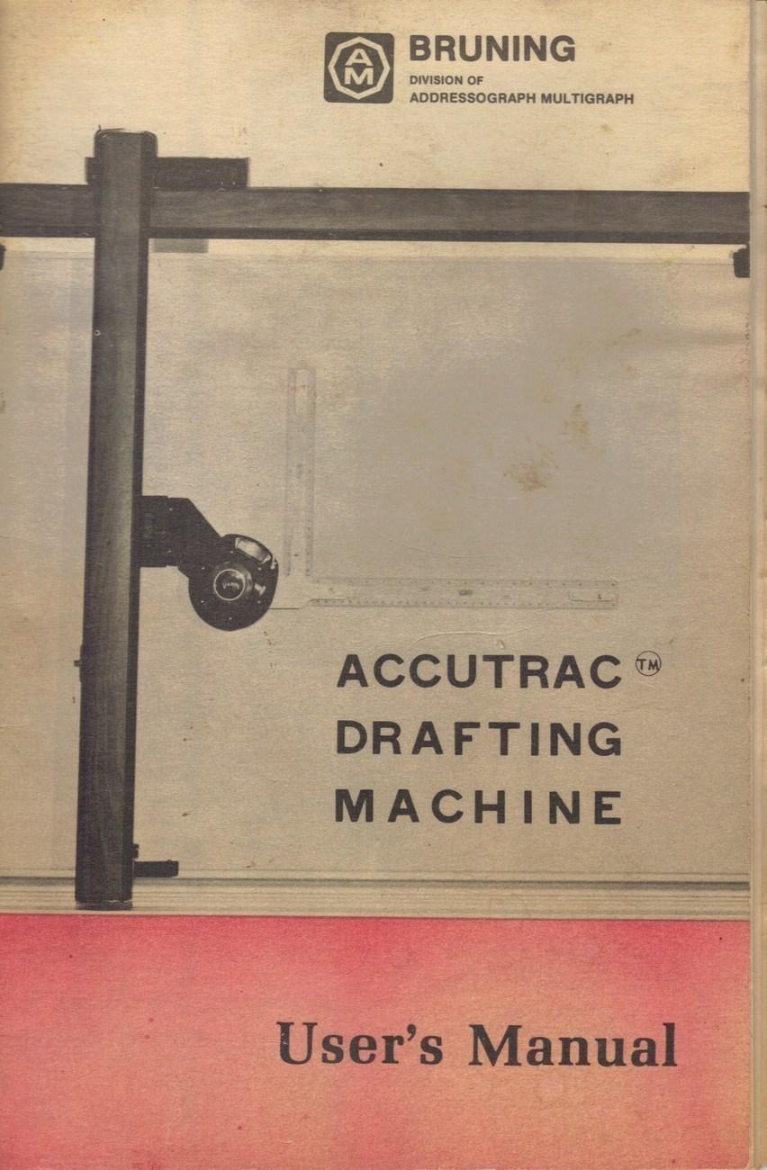 bruning drafting machine